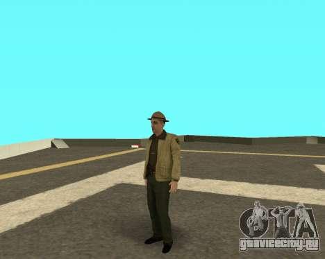 Новый скин для копов из ЛВПД для GTA San Andreas