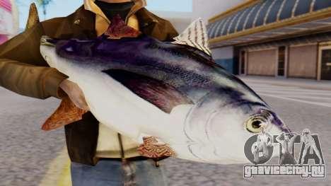 Tuna Fish Weapon для GTA San Andreas третий скриншот