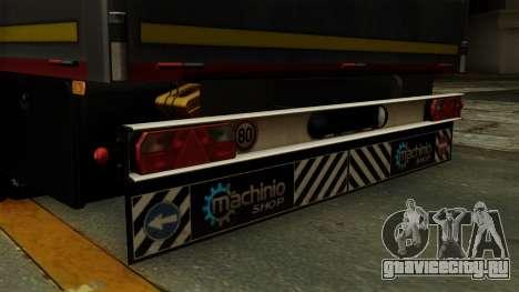 Flatbed3 Red для GTA San Andreas вид справа