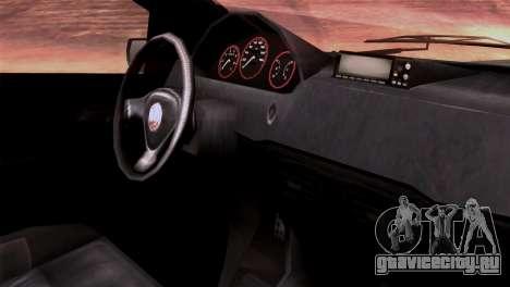 GTA 5 Declasse Asea IVF для GTA San Andreas вид справа