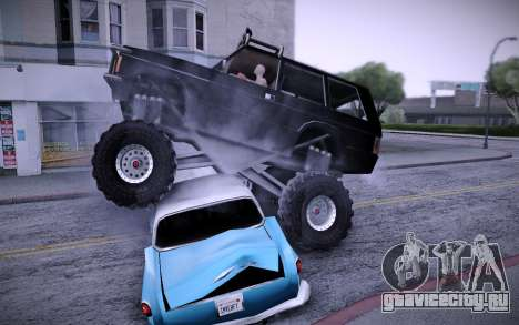 Huntley Monster v3.0 для GTA San Andreas вид справа
