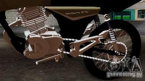 CB1 Stunt Imitacion для GTA San Andreas вид сзади