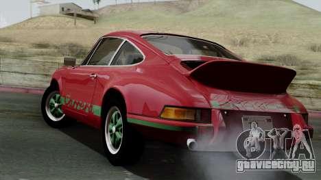 Porsche 911 Carrera RS 2.7 Sport (911) 1972 IVF для GTA San Andreas вид слева
