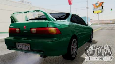 Acura Integra Fast and Furious для GTA San Andreas вид слева