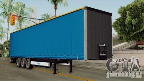 Trailer Krone Profiliner v1 для GTA San Andreas