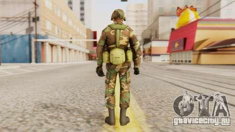Солдат армии США для GTA San Andreas третий скриншот