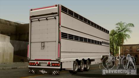 Trailer Aria для GTA San Andreas вид слева