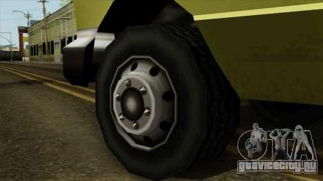 SAFD SAX Rescue Ambulance для GTA San Andreas вид сзади слева