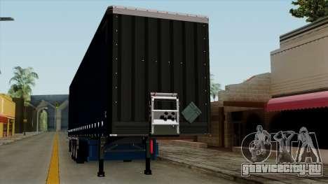 Trailer Krone Profiliner v2 для GTA San Andreas вид изнутри
