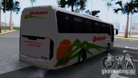 Busscar Elegance 360 для GTA San Andreas вид слева
