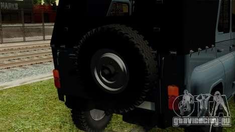 УАЗ-3151 для GTA San Andreas вид сзади
