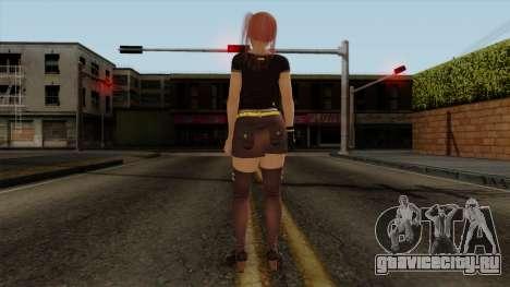 RE Dead Or Alive 5LR - Honoka C5 для GTA San Andreas третий скриншот