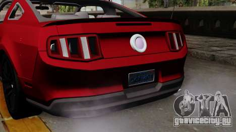Ford Mustang GT 2010 для GTA San Andreas вид справа