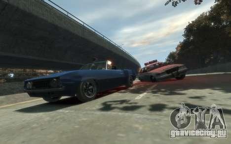 Declasse Vigero Cabrio для GTA 4 вид сзади слева