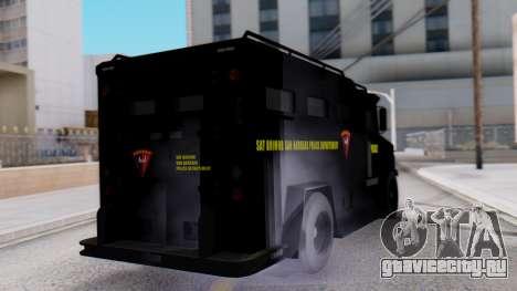 GTA 5 Enforcer Indonesian Police Type 1 для GTA San Andreas вид слева
