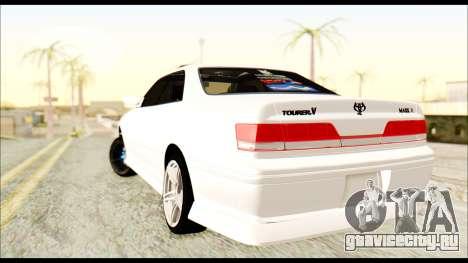 Toyota Mark 2 JZX 100 для GTA San Andreas вид слева