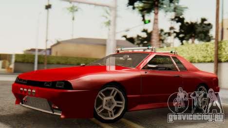 Elegy Korch Stock Wheel для GTA San Andreas вид справа