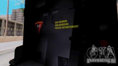 GTA 5 Enforcer Indonesian Police Type 1 для GTA San Andreas вид справа