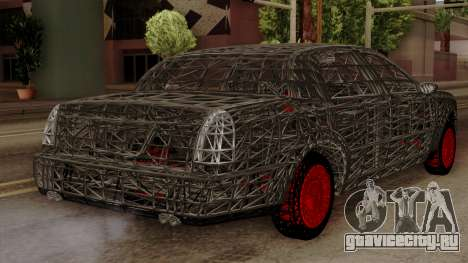 Kerdi Design Washington Roll Cage для GTA San Andreas вид слева