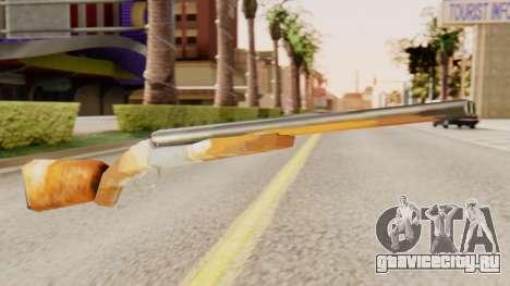Полная версия двуствольного ружья для GTA San Andreas