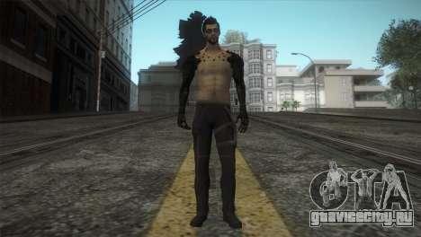 Адам Дженсен для GTA San Andreas второй скриншот