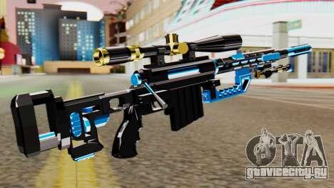 Fulmicotone Sniper Rifle для GTA San Andreas второй скриншот