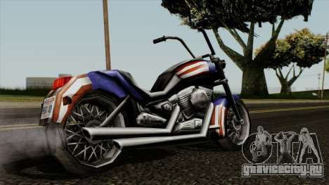 Freeway Angel для GTA San Andreas вид слева