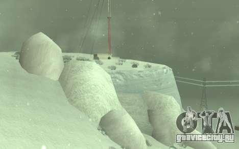 Зимний Timecyc для GTA San Andreas второй скриншот