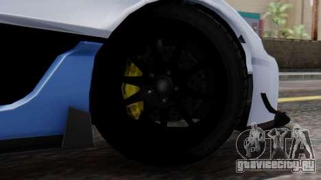 Progen T20 GTR для GTA San Andreas вид сзади слева