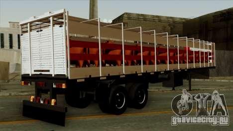 Trailer Cows для GTA San Andreas вид слева