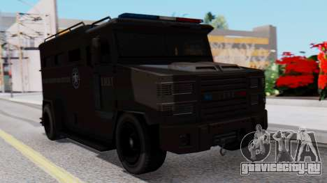 GTA 5 Enforcer S.W.A.T. для GTA San Andreas