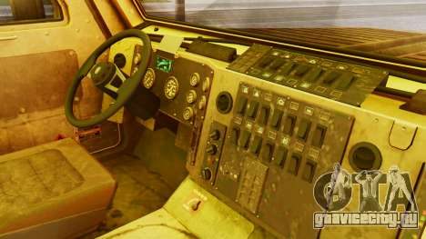 MRAP Cougar from CoD Black Ops 2 для GTA San Andreas вид справа