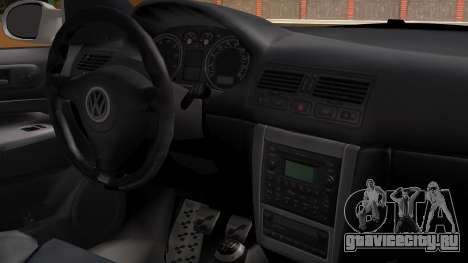 Volkswagen Golf R32 JDM Itasha для GTA San Andreas вид справа