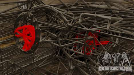Kerdi Design Washington Roll Cage для GTA San Andreas вид справа