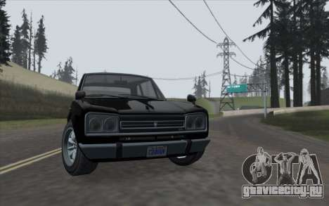 ENBSeries For Low PC v5.0 для GTA San Andreas