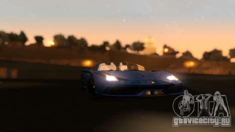 ENB Zix 3.0 для GTA San Andreas пятый скриншот