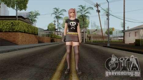 RE Dead Or Alive 5LR - Honoka C5 для GTA San Andreas второй скриншот