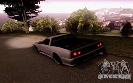 Elegy Pickup By Next для GTA San Andreas вид слева