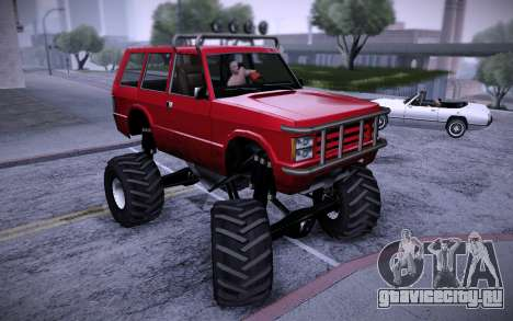 Huntley Monster v3.0 для GTA San Andreas