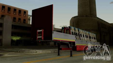 Flatbed3 Red для GTA San Andreas