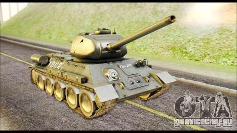 Real 102 Rudy Poland Tanks для GTA San Andreas вид слева