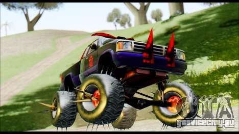 Predaceptor Monster Truck (Saints Row GOOH) для GTA San Andreas