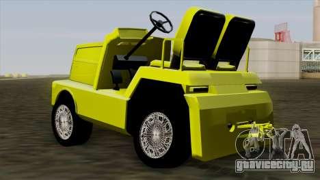 GTA 4 Airtug HQS для GTA San Andreas вид слева