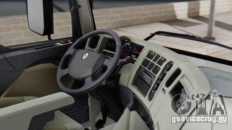 Renault Premuim 4x2 для GTA San Andreas вид справа