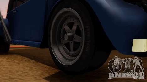 Citroen 2CV (jian) Drag Style Edition для GTA San Andreas вид сзади слева