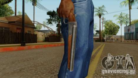 Original HD Sawnoff Shotgun для GTA San Andreas третий скриншот