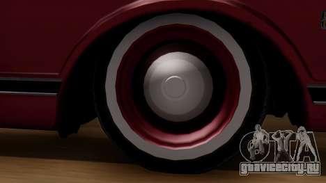 Chevrolet C10 Utility для GTA San Andreas вид сзади слева