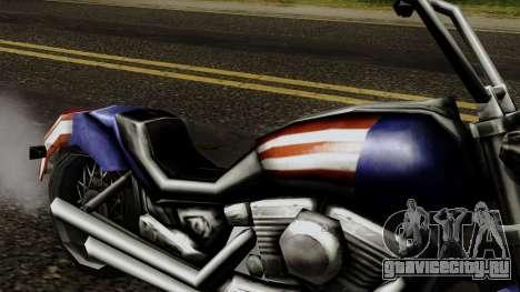 Freeway Angel для GTA San Andreas вид справа