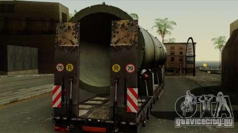 Trailer Cargos ETS2 New v3 для GTA San Andreas вид справа
