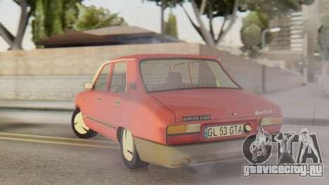 Dacia 1310 Berlina v2 для GTA San Andreas вид сзади слева